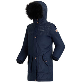 Regatta Halimah Parka Girls Navy